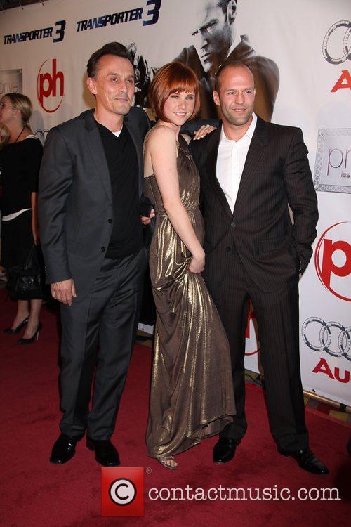 Robert Knepper, Natalya Rudakova and Jason Statham 2