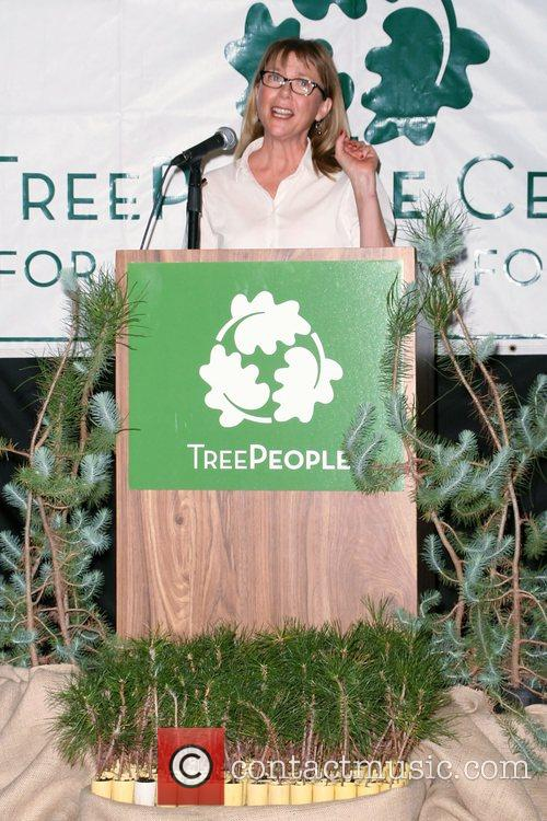 Annette Bening  Launching of the TreePeople Enviro...