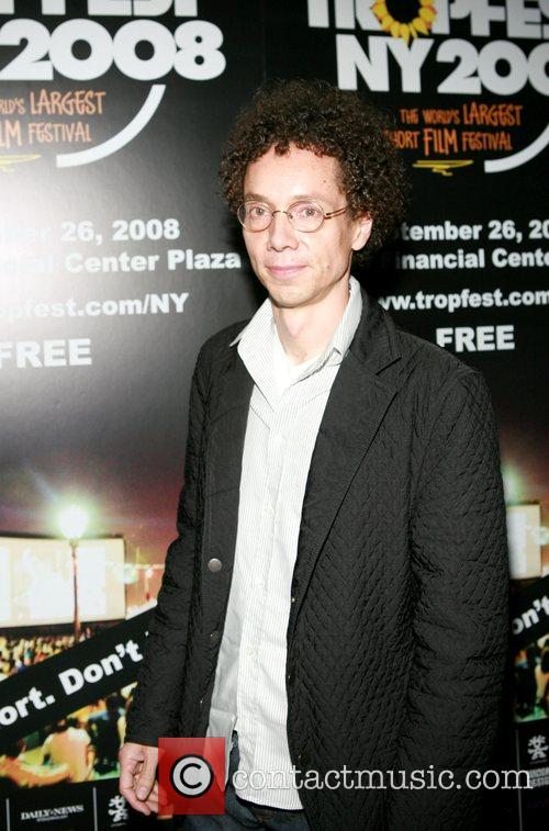 Malcolm Gladwell at the 2008 Tropfest NY at...
