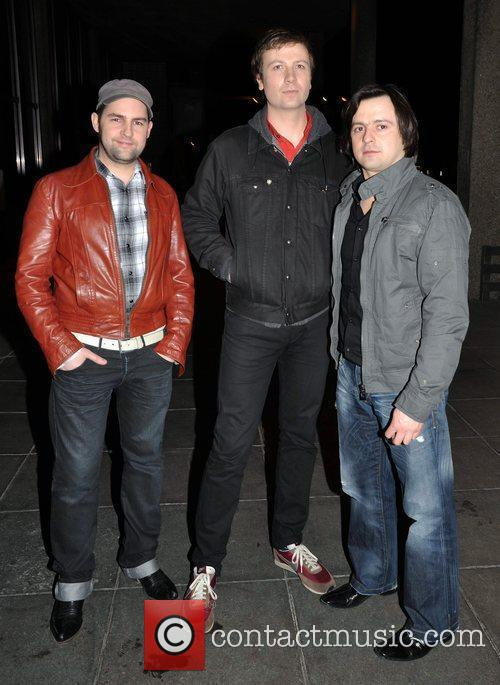 BellX1 outside the RTE studios after appearing on...