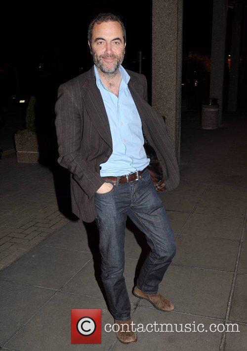 James Nesbitt outside the RTE studios after appearing...