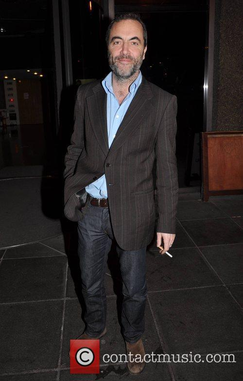 Outside the RTE studios after appearing on Tubridy...