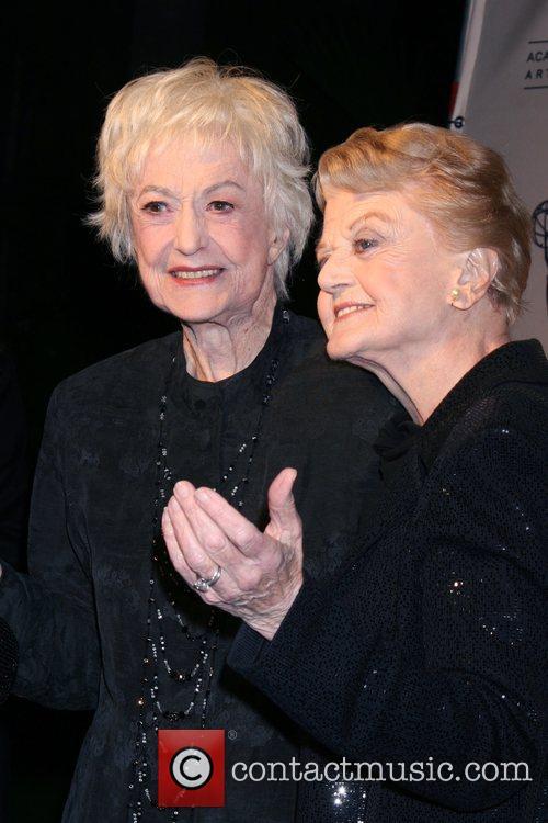 Bea Arthur and Angela Lansbury