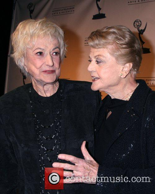 Bea Arthur, Angela Lansbury, TV Hall Of Fame Ceremony