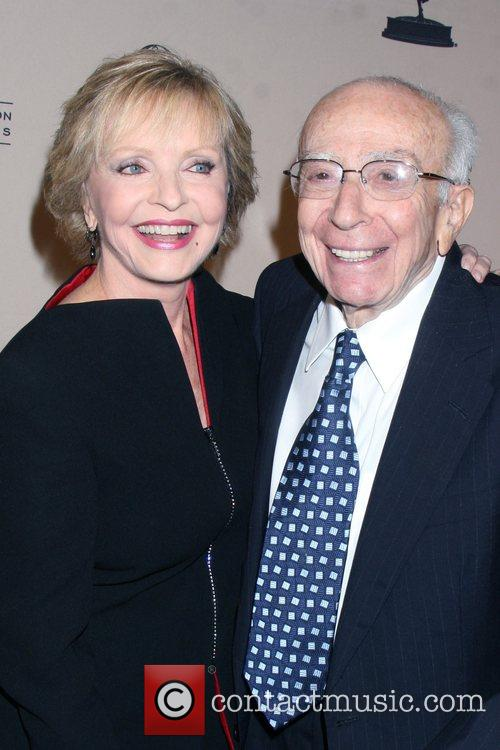 Florence Henderson and Sherwood Schwartz 1