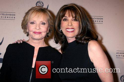 Florence Henderson and Kate Linder Academy Of Television...
