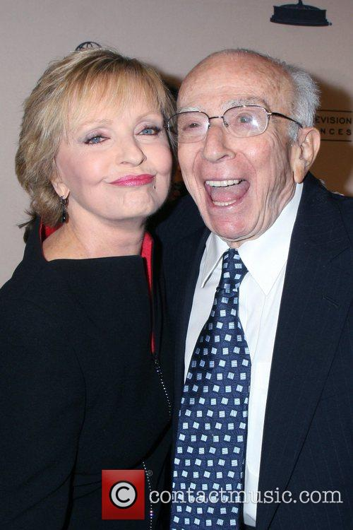 Florence Henderson and Sherwood Schwartz 5