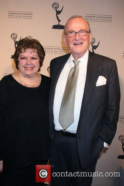 Larry Gelbart and his wife Pat Gelbart Academy...
