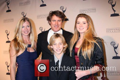 Tony Griffin and his family Academy Of Television...