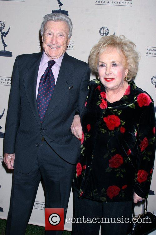 Warren Stevens and Doris Roberts Academy Of Television...