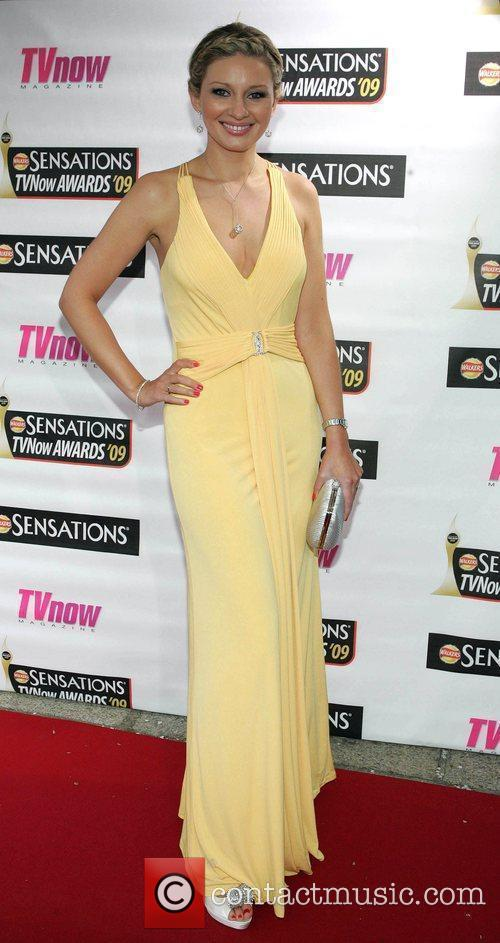 Anna Daly The Sensations TV Now Awards 2009...