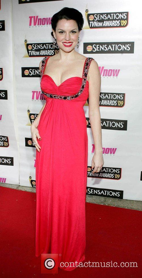 Caroline Morahan The Sensations TV Now Awards 2009...