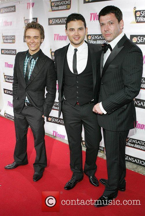 Jack P. Shepherd, Ryan Thomas and Gray O'Brien...