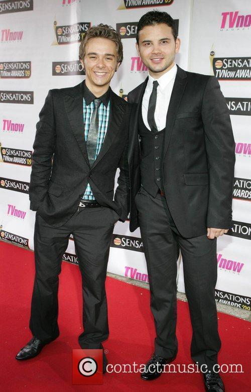 Jack P. Shepherd and Ryan Thomas The Sensations...