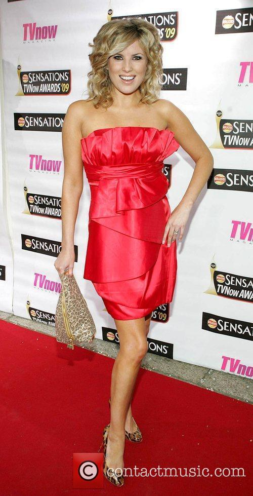Jenny Buckley The Sensations TV Now Awards 2009...