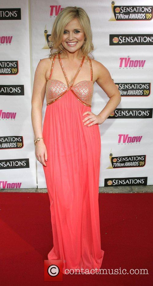 Karen Koster The Sensations TV Now Awards 2009...