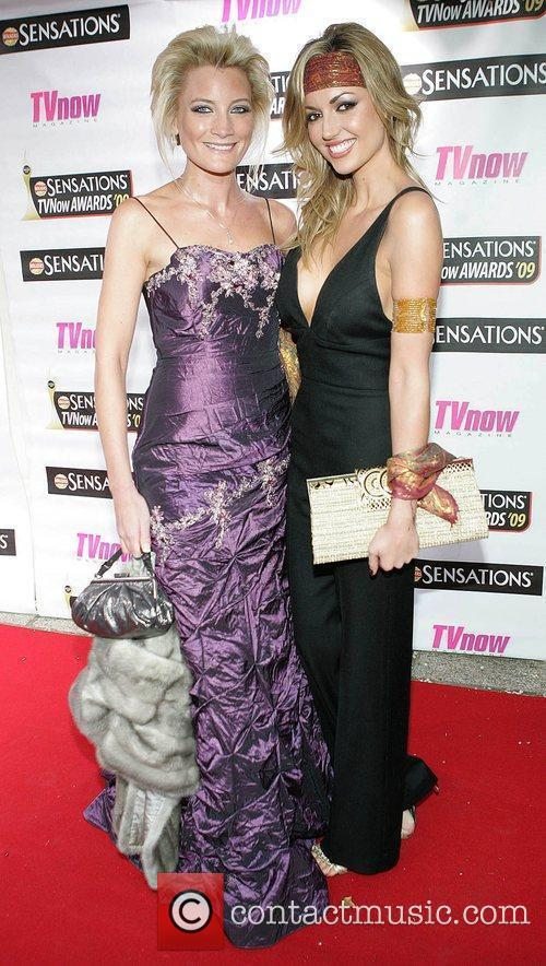 Laura Toogood and Rosanna Davison The Sensations TV...