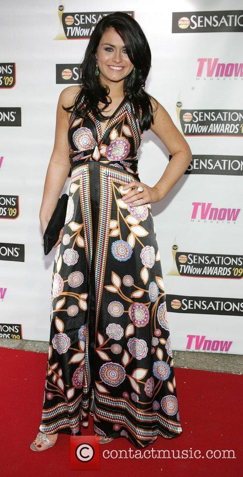 Lauren Bannon The Sensations TV Now Awards 2009...