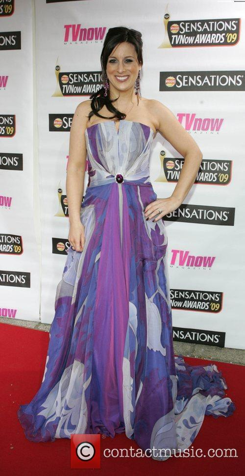 Lucy Kennedy The Sensations TV Now Awards 2009...