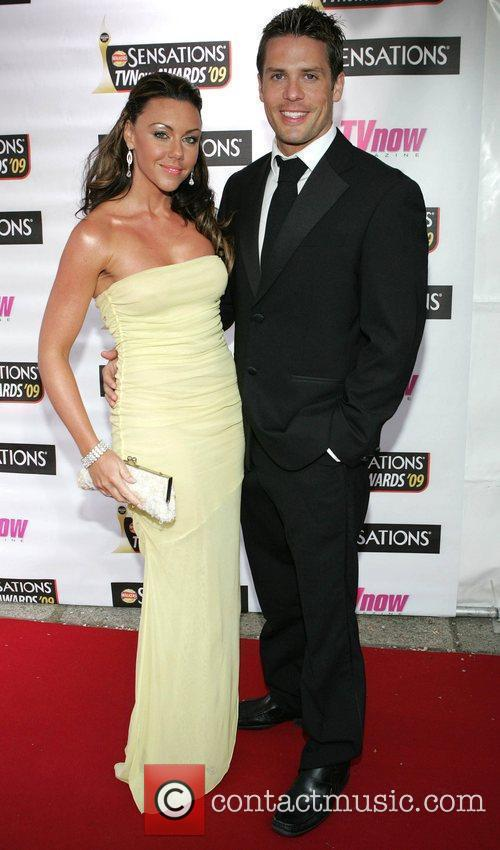 Michelle Heaton and boyfriend Hugh Hanley The Sensations...