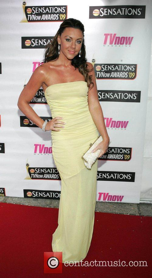 Michelle Heaton The Sensations TV Now Awards 2009...