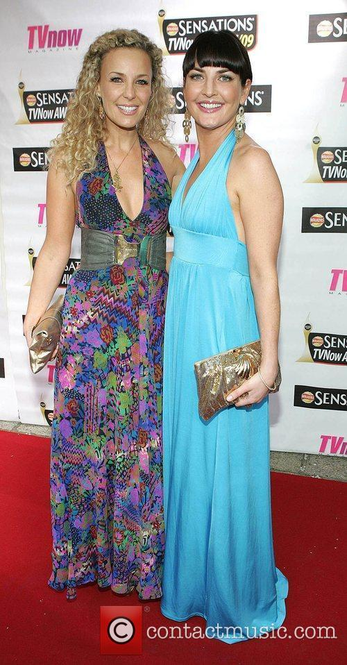 Orlaith Rafter and Ciara O'Callaghan The Sensations TV...