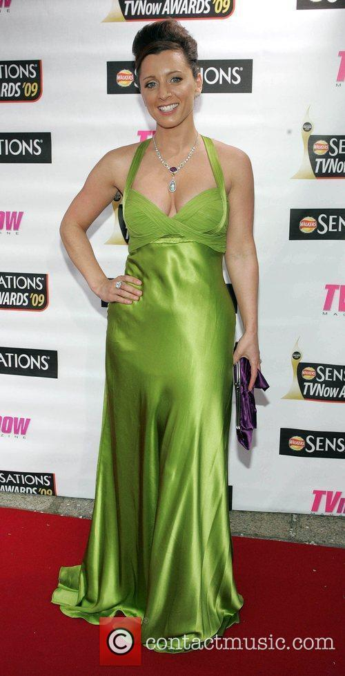 Sinead Desmond The Sensations TV Now Awards 2009...