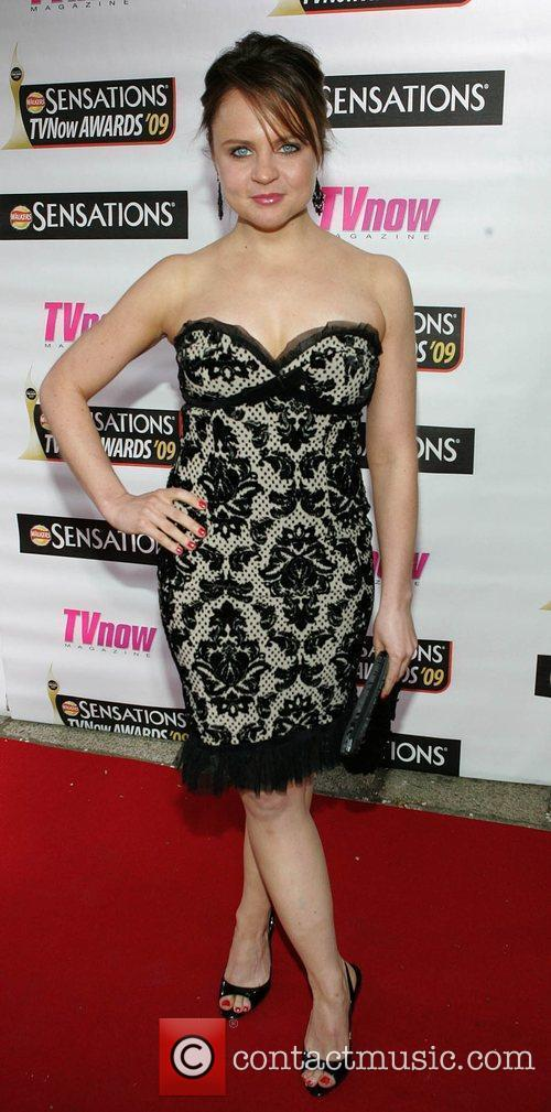 Vikki Binns The Sensations TV Now Awards 2009...
