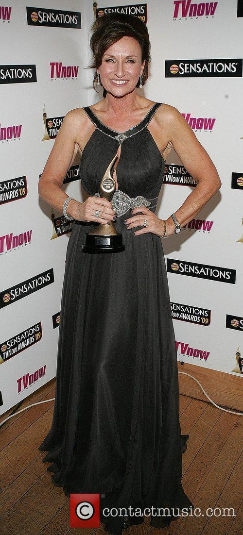 Celia Holman-Lee The Sensations TV Now Awards 2009...