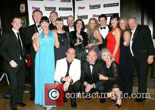 The cast of Fair City The Sensations TV...
