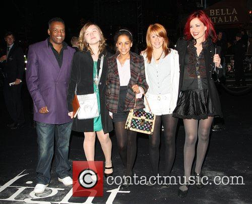 David Grant and Carrie Grant UK premiere of...