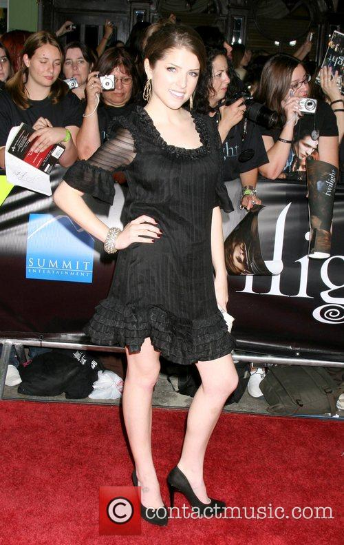 Anna Kendrick  Los Angeles Premiere of the...