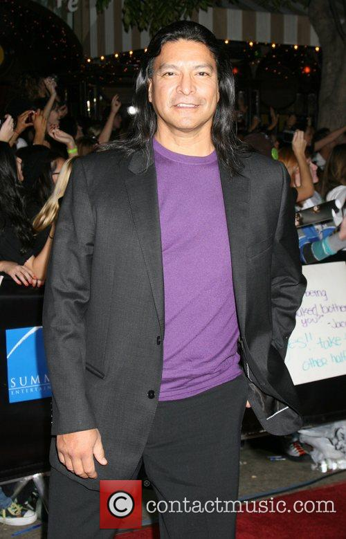 Gil Birmingham Los Angeles Premiere of the film...