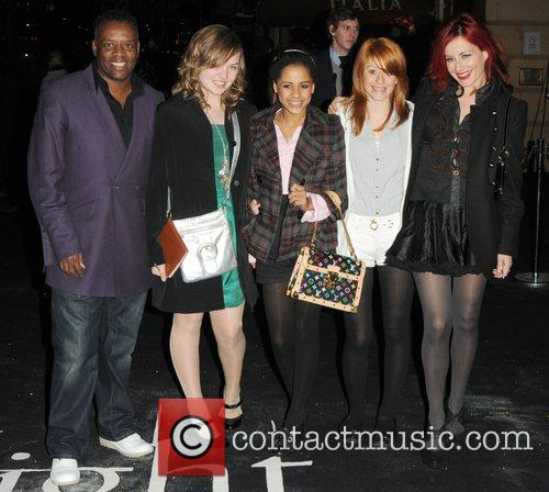 David Grant, Carrie Grant and Guests UK premiere...