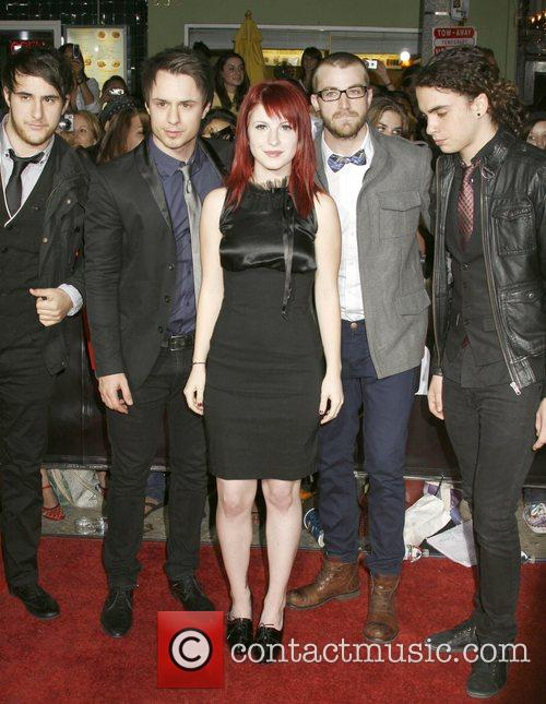 Paramore Los Angeles Premiere of the film 'Twilight'...