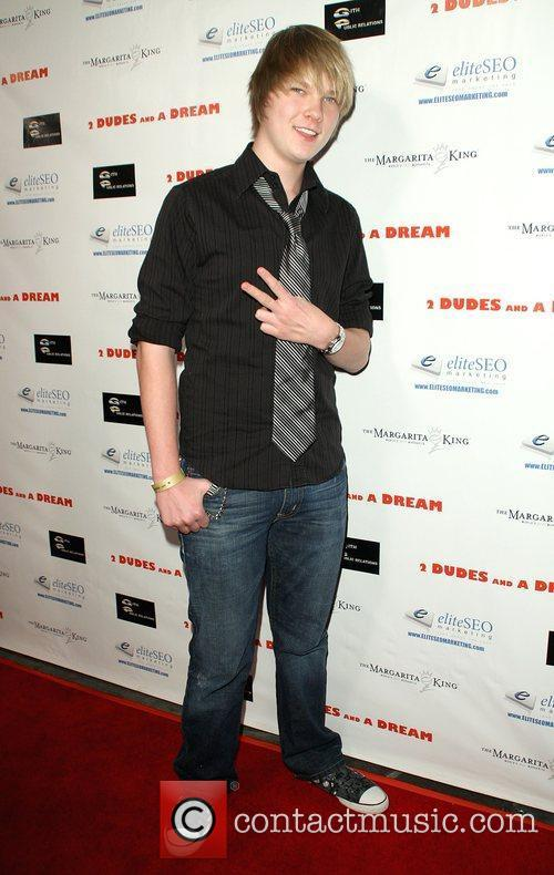 Austin Anderson Premiere of '2 Dudes and a...