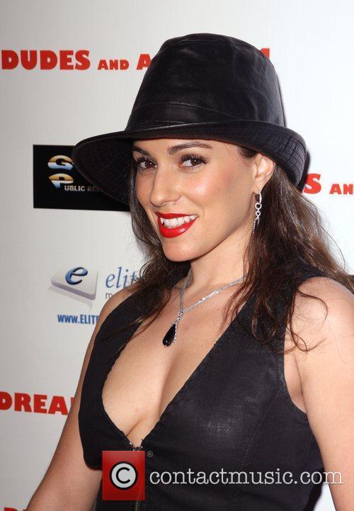 Christina DeRosa Premiere of '2 Dudes and a...