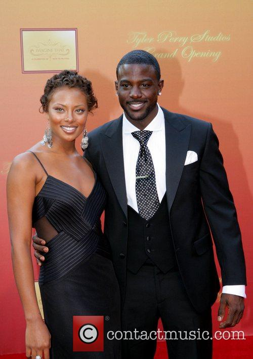 Eva Pigford and Lance Gross Tyler Perry unveils...