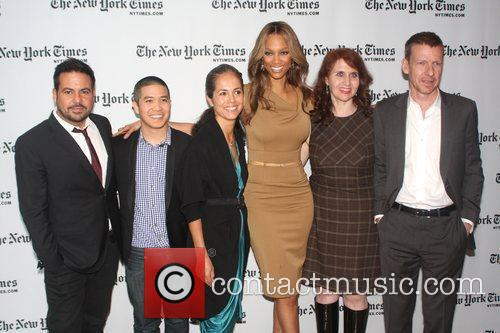 First Lady Michelle Obama's fashion designers Narciso Rodriguez,...