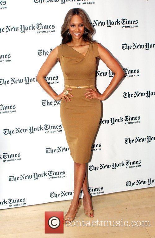 Tyra Banks The New York Times Sunday with...
