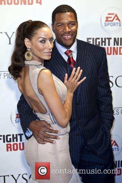 Nicole Murphy and Michael Strahan Los Angeles Premiere...