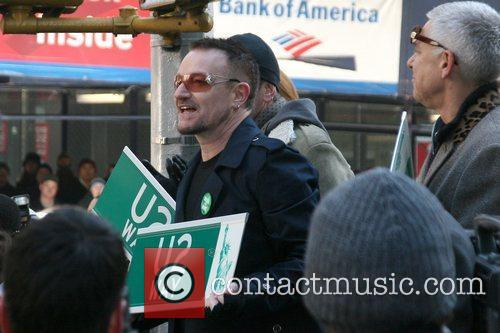 Bono, Cbs, David Letterman and U2