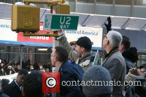 Bono, CBS, David Letterman, The Edge, U2
