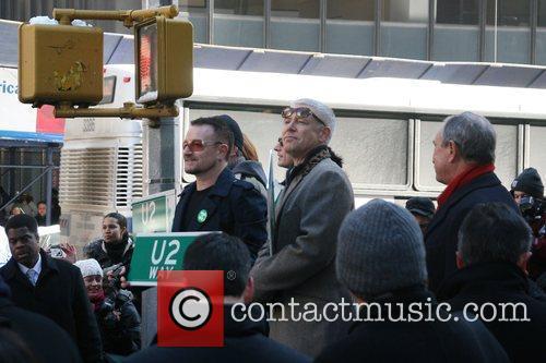 Bono, Cbs, David Letterman, The Edge and U2 6