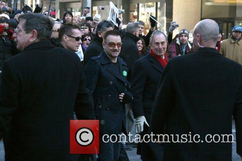 Bono, Cbs, David Letterman and U2 7