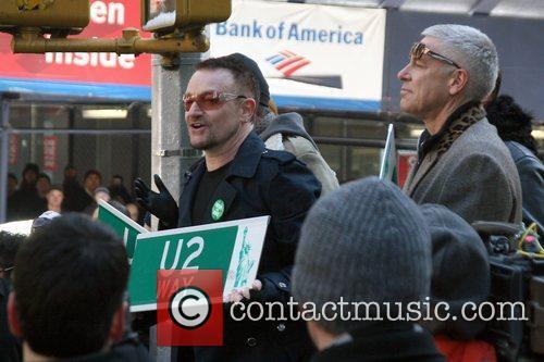 Bono, Cbs, David Letterman and U2 3
