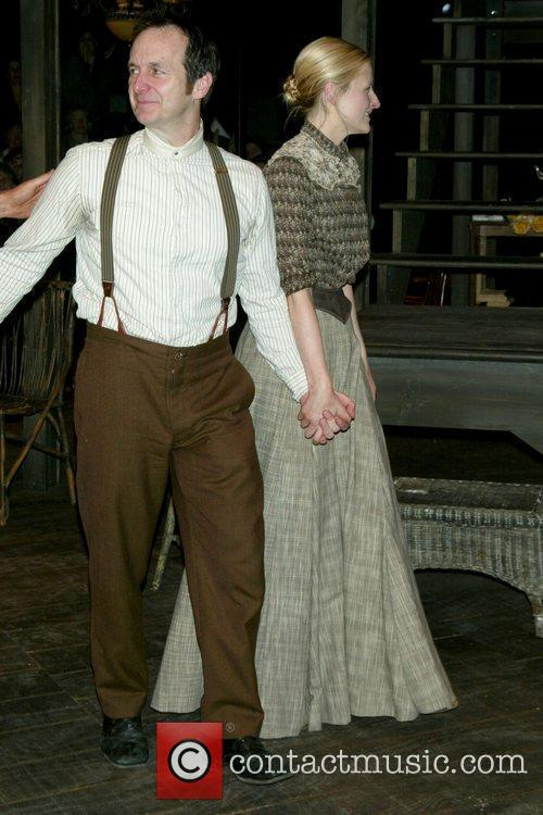 Opening night curtain call for 'Uncle Vanya' at...