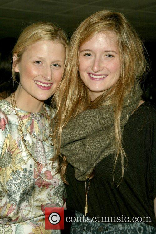 Mamie Gummer and Grace Grummer Opening Night After...