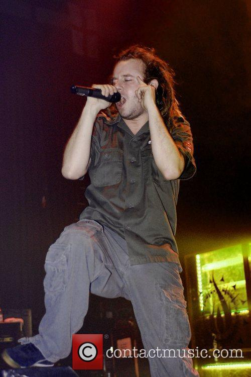 In Flames perform on the Unholy Alliance Chapter...