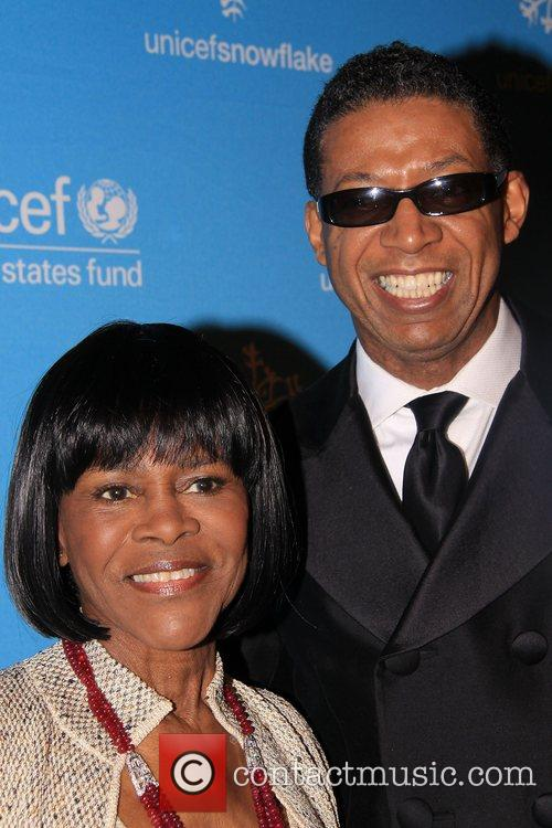 Cicely Tyson and B. Michael 2008 UNICEF Snowflake...